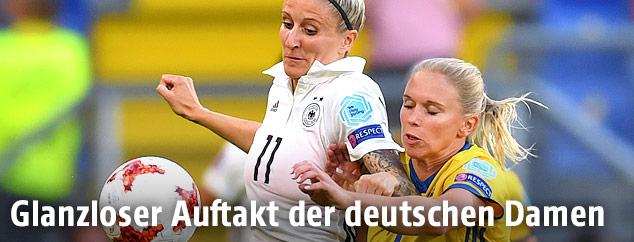 Anja Mittag (Deutschland) gegen Jonna Andersson (Schweden)