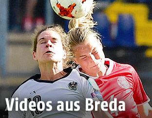 Nina Burger und  Maja Kildemoes