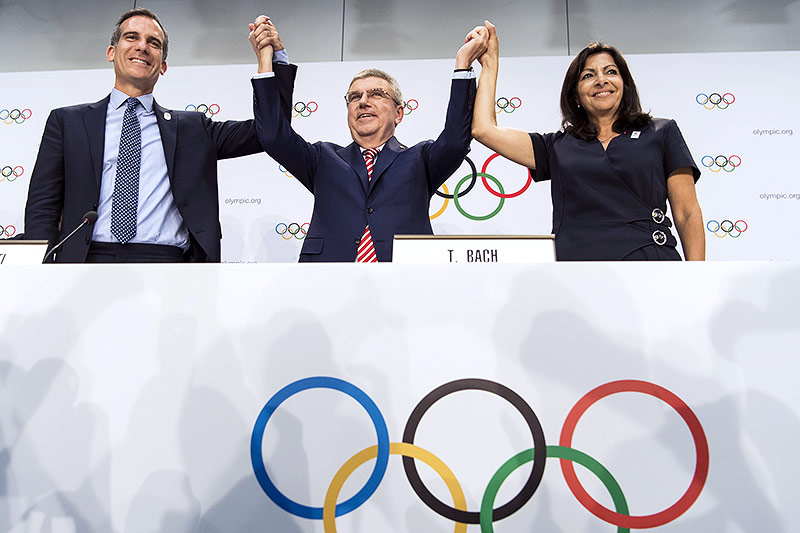 Olympia 2024 in Paris, 2028 in Los Angeles