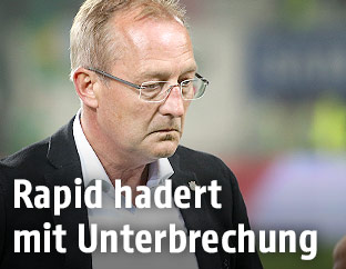 Rapid Sportdirektor Fredy Bickel