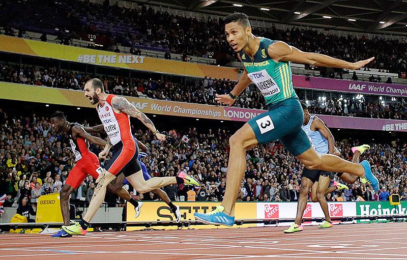 Van Niekerk gewinnt locker Gold