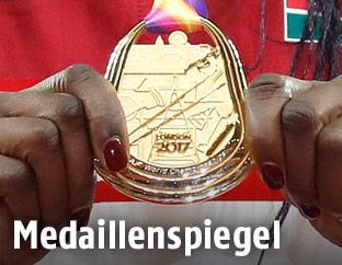 Leichtathletik-WM-Goldmedaille