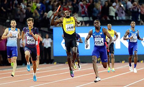 Leichtathlet Usain Bolt