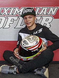 der Österreichische Moto3-Fahrer Maximilian Kofler