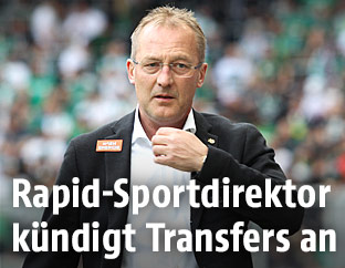 Sportdirektor Fredy Bickel (Rapid)