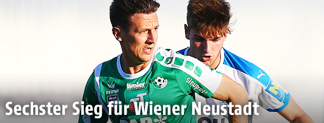 Spielszene aus dem Spiel Wiener Neustadt gegen Wattens