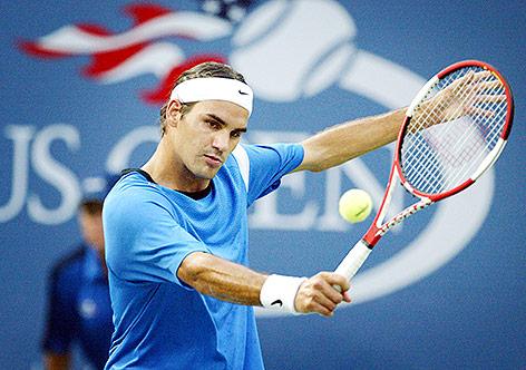 In fünf Sätzen: Federer folgt Nadal in zweite US-Open-Runde