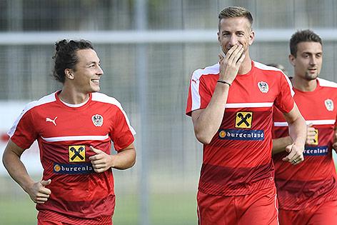Julian Baumgartlinger und Marc Janko