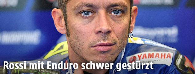Yamaha-Pilot Valentino Rossi