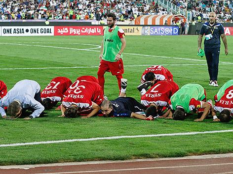 Syrien erreicht Playoffs zur Fußball-WM