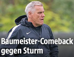 Admira-Trainer Ernst Baumeister