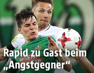 Philipp Netzer (Altach) and Thomas Murg (Rapid)