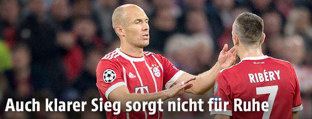 Arjen Robben und Franck Ribery (Bayern)
