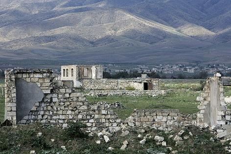 Ruine in Agdam