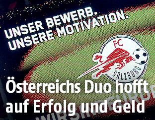 Anzeigetafel im Salzburg-Stadion