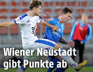 David Cancola (Wiener Neustadt) und Daniel Kerschbaumer (Linz)