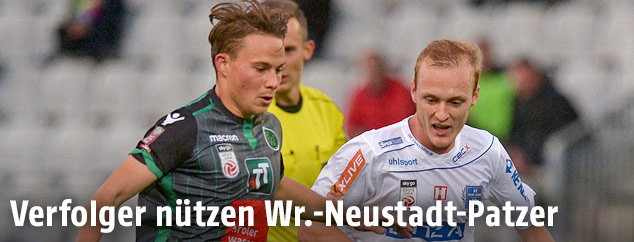 Stefan Rakowitz (Innsbruck) und Stefan Haudum (BW Linz)