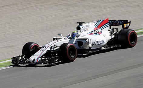 Felipe Massa für Williams beim Grand Prix von Italien im September 2017