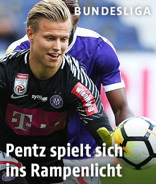 Austria-Goalie Patrick Pentz