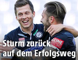 Deni Alar und Peter Zulj (Sturm)