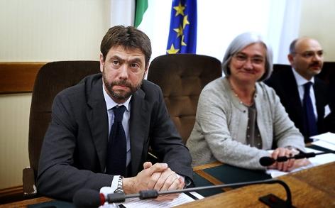 Juventus Turins Präsident Andrea Agnelli