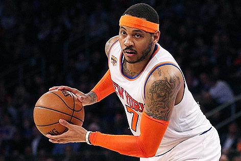 NBA-Star Carmelo Anthony