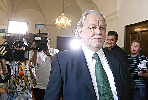 Archivbild von Ex-Sturm-Graz-Präsident Hannes Kartnig aus dem Jahr 2015