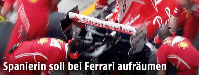 Ferrari-Techniker