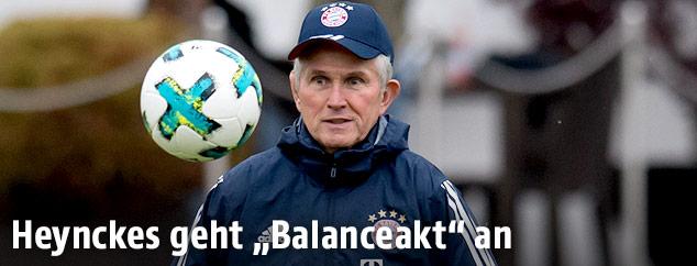 Neuer Bayern-Trainer Jupp Heynckes