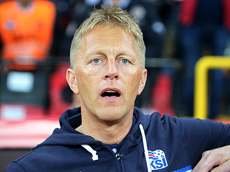 Islands Coach Heimir Hallgrimsson