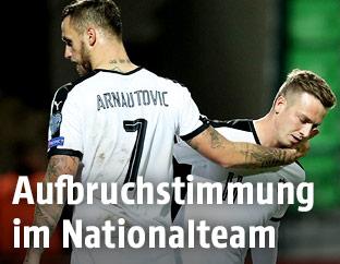 Marco Arnautovic und Philipp Schobesberger