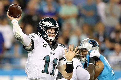 Quarterback Carson Wentz (Philadelphia Eagles)