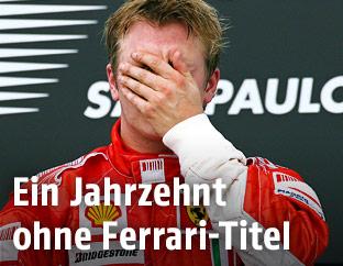 Kimi Räikkönen 2007 in Brasilien
