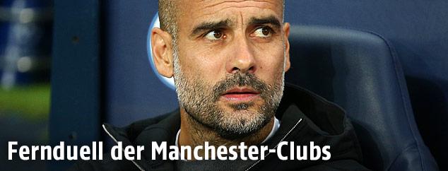 Trainer von Manchester City Josep Guardiola