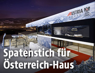 Visualisierung des Österreich-Haus