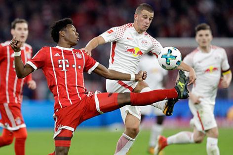David Alaba (Bayern) Diego Demme (Leipzig)