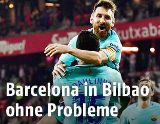 Jubel bei Barcelona