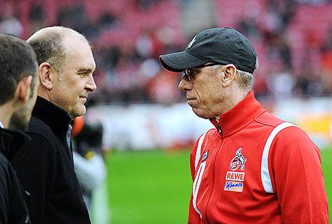Jörg Schmadtke und Peter Stöger