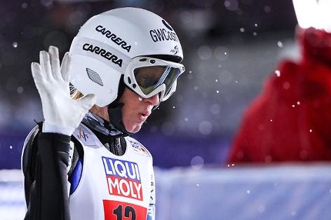 Skispringerin Iraschko-Stolz