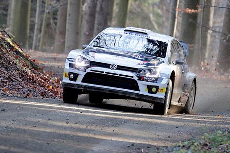 Raimund Baumschlager (AUT) bei der Waldviertel-Rallye