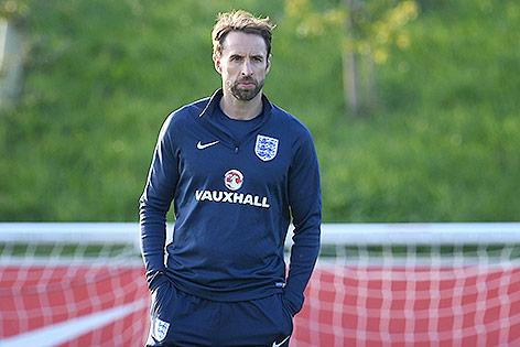 Teamchef Gareth Southgate (ENG)