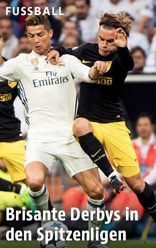 Cristiano Ronaldo gegen Antoine Griezmann