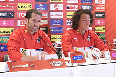 Franco Foda und Julian Baumgartlinger