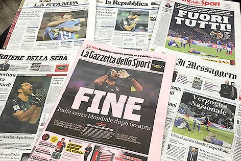 Italienische Zeitungen