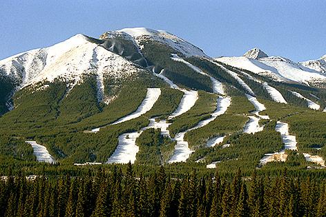 Skigebiet Nakiska, 1988