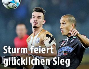 Mergim Berisha (LASK) und Christian Schoissengeyr (Sturm)