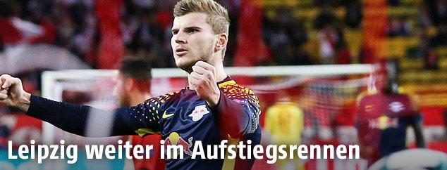 Jubel von Timo Werner (RB Leipzig)