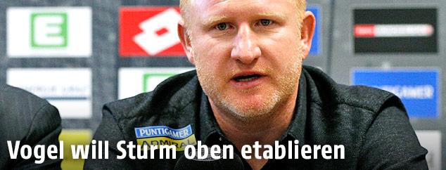 Der neue Sturm-Trainer Heiko Vogel
