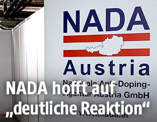 Werbebanner der NADA
