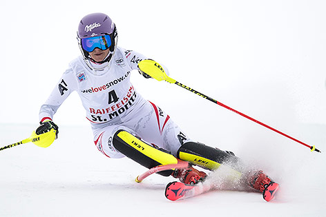 Kombination nach Slalom abgebrochen